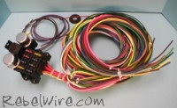 rebel wire wire kits wiring harness connectors and accessories for real rods